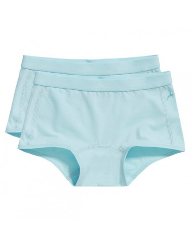 Ten Cate Meisjes Short 2Pack Iced Aqua 7-12Y