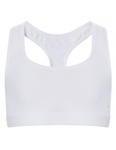 Ten Cate Meisjes Racerback Top Wit 13-18Y