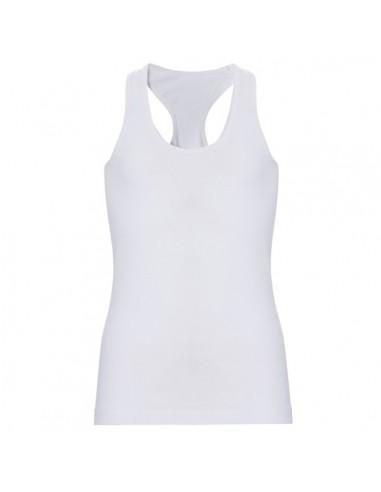 Ten Cate Meisjes Racerback Shirt Wit 13-18Y