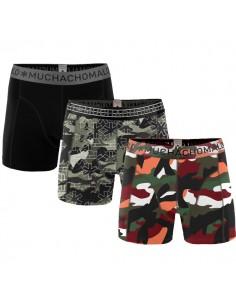 MuchachoMalo 3Pack Army Jongens Boxershorts