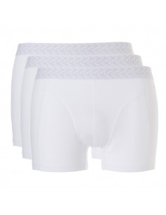 Ten Cate Heren Ondergoed Basic short Wit  3 pack Actie 2+1