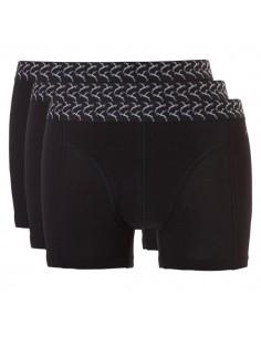 Ten Cate Heren Ondergoed Basic short Zwart  3 pack Actie 2+1