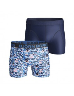 Björn Borg Short 2Pack BB WIND Blue Aster