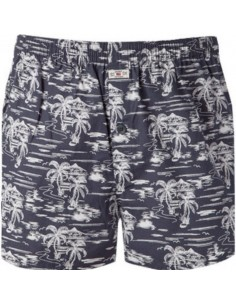 Jockey Boxershort Klassiek Woven 2Pack Trees Blue Nights
