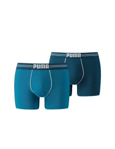 Puma Boxershort 2Pack COTTON STRETCH Blue
