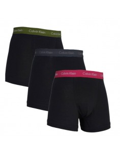 Calvin Klein Ondergoed color mix 3Pack blue Army Green Red Black Long Trunk
