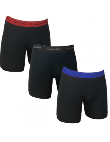 Calvin Klein Ondergoed Boxer Brief Black Blue Red