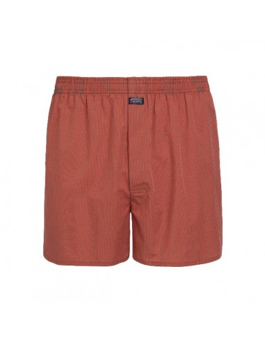 Jockey Boxershort Klassiek Woven Red Metal