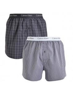 Calvin Klein Ondergoed Woven 2Pack Blauw