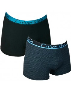 Calvin Klein Ondergoed ID Trunk Stripes Blue 2pack