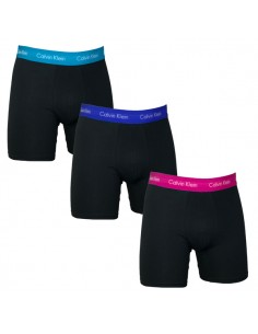 Calvin Klein Ondergoed Boxer Cotton Stretch Black Blue Red