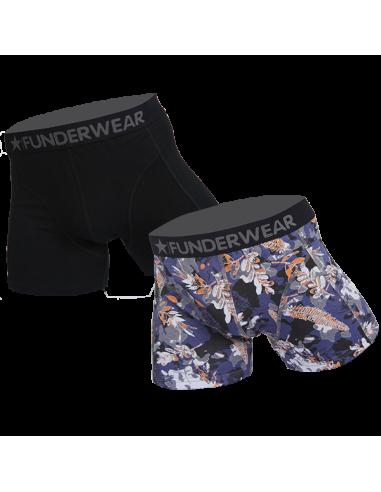 Funderwear CAMOUFLAGE 2 stuks Boxershorts