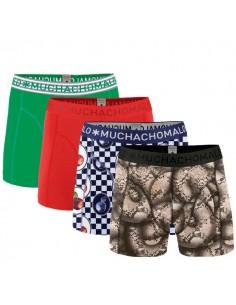 MuchachoMalo 4Pack FRUIT Jongens Boxershorts