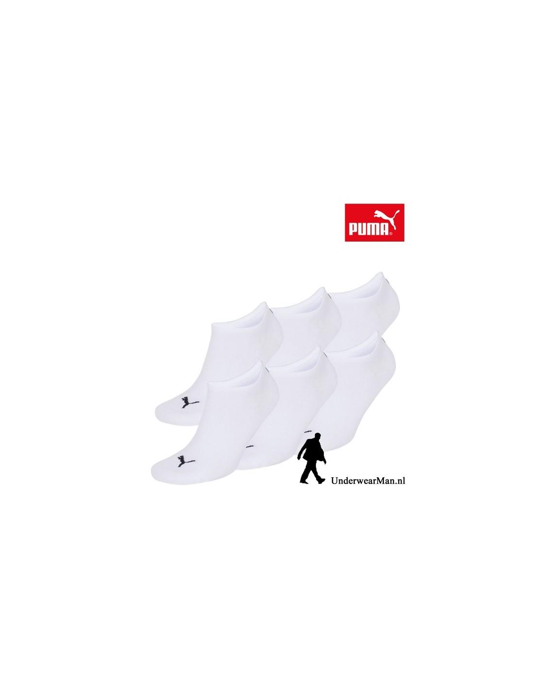 aadb54f888a Puma Sokken 3Pack Sneaker Invisible White - UnderwearMan.nl