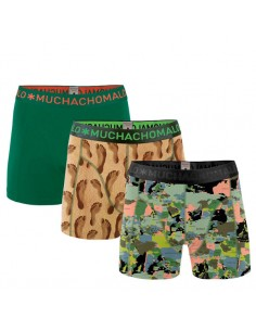 MuchachoMalo 3Pack World at Your Feet Jongens Boxershorts