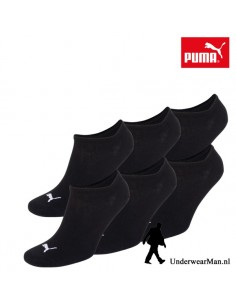 Puma Sokken 3Pack Sneaker Invisible Black