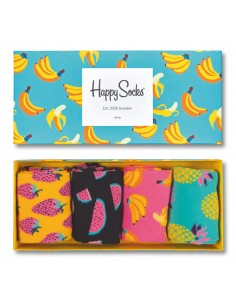 Happy Sock Giftbox Fruit 41-46