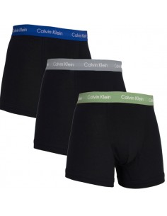 Calvin Klein Ondergoed color mix 3Pack Grey Blue Army Long Trunk