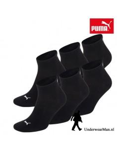 Puma Sokken 3Pack Quarter Black