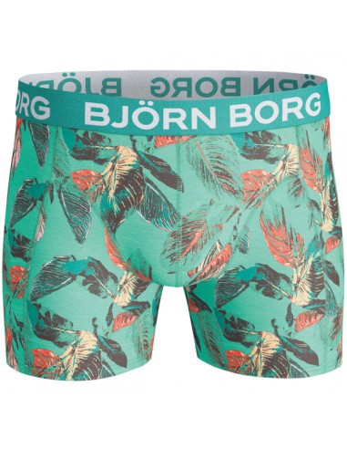 Björn Borg Boxershort BB Vibrant Leaves Biscay Green