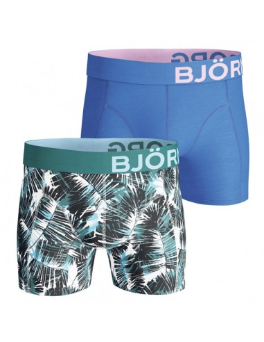 Björn Borg Short 2Pack BB Summer Palm Brilliant White Boxershorts