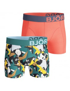 Björn Borg Short 2Pack BB Romantic Flower Black Beauty Boxershorts