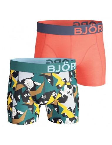 Björn Borg Short 2Pack BB Romantic Flower Black Beauty Boxershorts