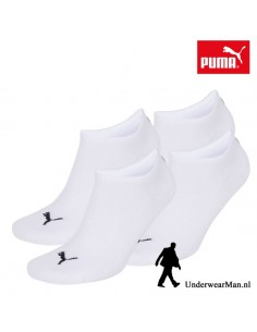Puma Kinder Sokken 2Pack Sneaker Invisible White