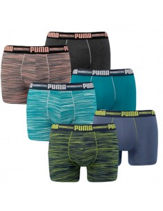 Puma Boxershort 6 pack space dye