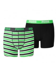Puma Boxershort CLASSIC GREEN 2Pack Boys