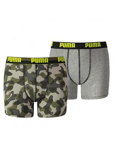 Puma Boxershort Camo Blue 2Pack