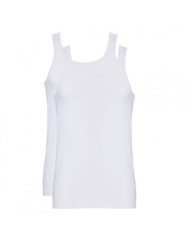 Ten Cate Men Fine Shirt Singlet 2Pack Wit
