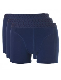 Ten Cate Heren Ondergoed Basic short Navy  3 pack Actie 2+1
