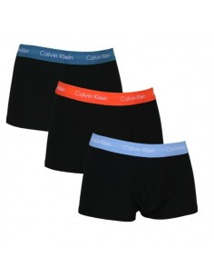 Calvin Klein Ondergoed 3Pack Black red blue Low Rise Trunk