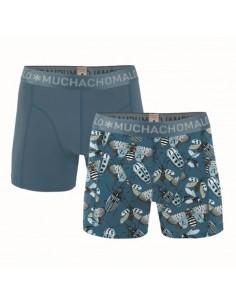 MuchachoMalo Cotton Modal Bugs 2Pack Heren Boxershorts