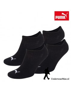 Puma Kinder Sokken 2Pack Sneaker Invisible Black