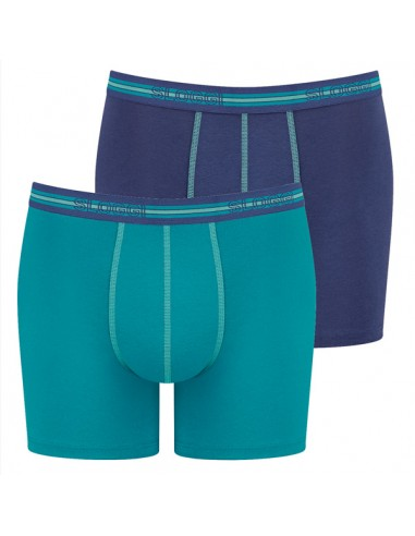 Sloggi Men Match Short C2P Blue Petrol 2Pack