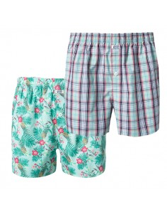 Jockey Boxershort Maui 2Pack beachlife