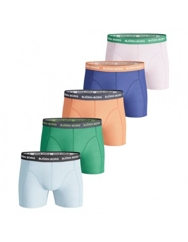 Björn Borg Boxershorts 5Pack Solids summer breeze