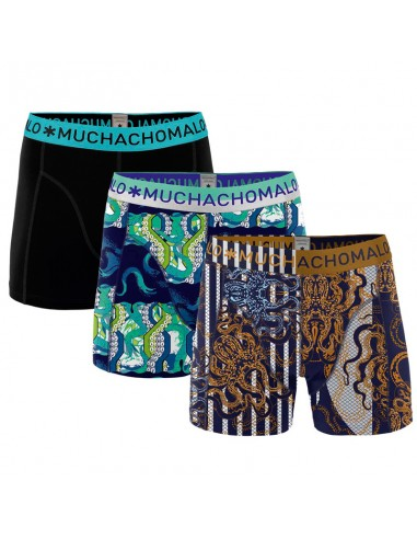 MuchachoMalo Release The Kraken 3Pack Heren Boxershorts