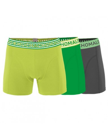 MuchachoMalo SOLID 230 3Pack Green Heren Boxershorts