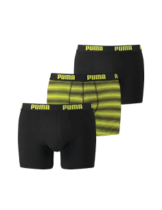 Puma Boxershort 2Pack BASIC STRIPE Black Antra