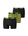 Puma Boxershort 2Pack BASIC STRIPE Black Antra