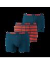 Puma Boxershort 2Pack BASIC STRIPE Blue Orange