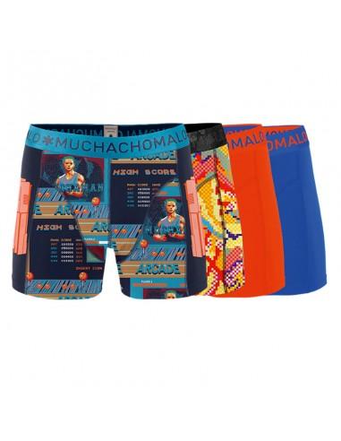 MuchachoMalo High Score 4Pack Heren Boxershorts