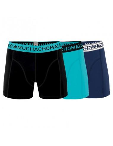 MuchachoMalo 3Pack SOLID 230 Green Jongens Boxershorts