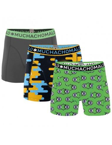 MuchachoMalo 3Pack Sleep When I'm Dead Jongens Boxershorts