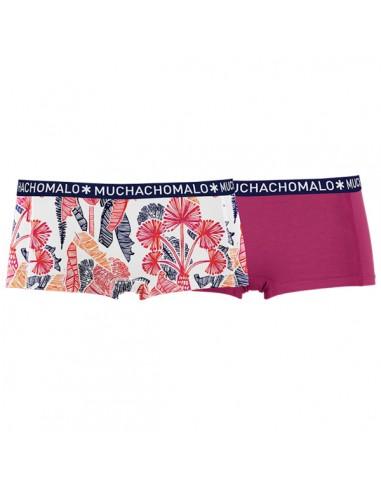 MuchachoMalo Short 2Pack Natur Dames Ondergoed