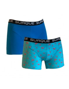 Suaque Boxershorts Duo pack Flamingo