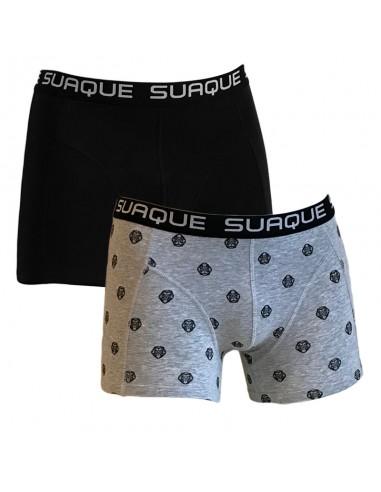 Suaque Boxershorts Duo pack Black Lion